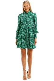 Ginger-and-Smart-Regenerate-Dress-Green-Floral-Front