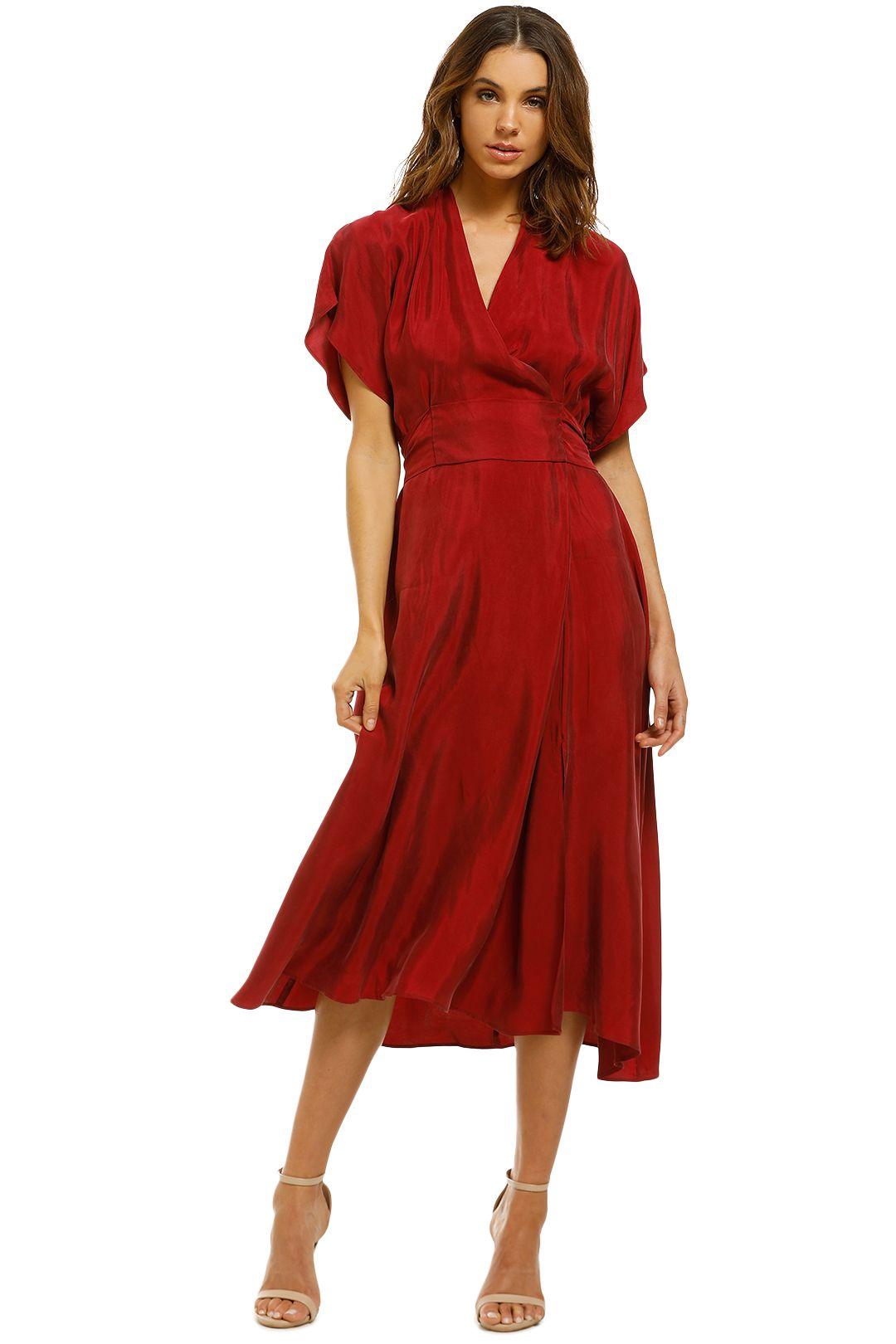 Ginger-and-Smart-Shade-Dress-Ruby-Front