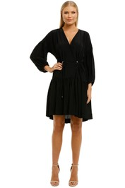 Ginger-and-Smart-Whisper-Dress-Black-Front