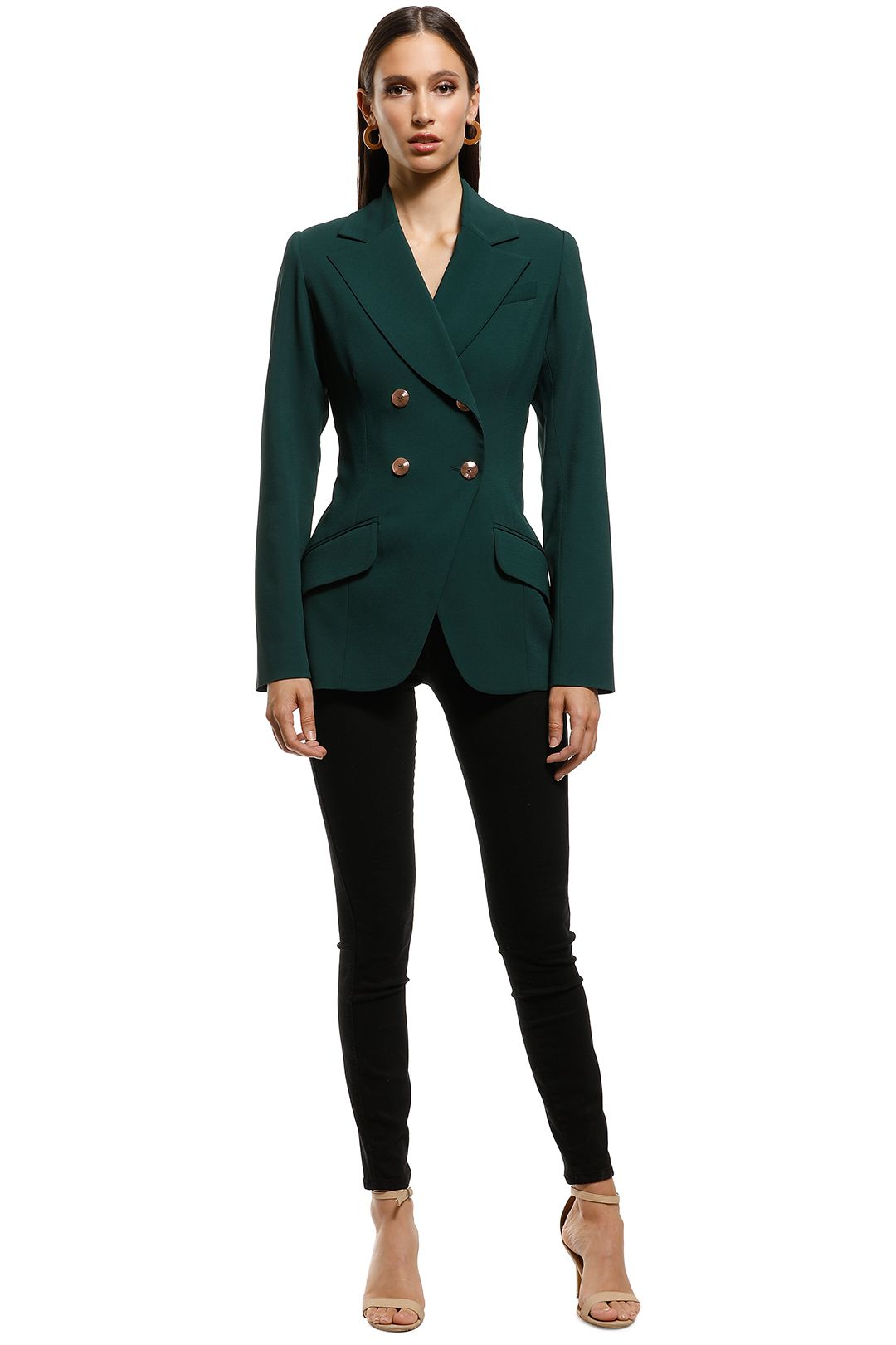 Ginger and Smart - Parity Jacket - Green - Front