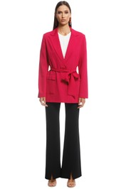 Ginger and Smart - Stasis Jacket - Shocking Pink - Front