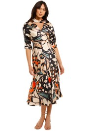 Ginger and Smart All The Love Dress Abstract Print