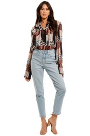 Ginger and Smart Symbiotic Top Long Sleeves