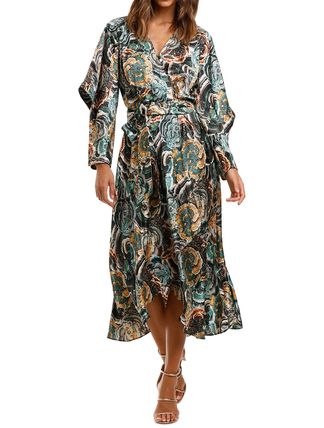 Ginger and Smart Underworld Wrap Dress