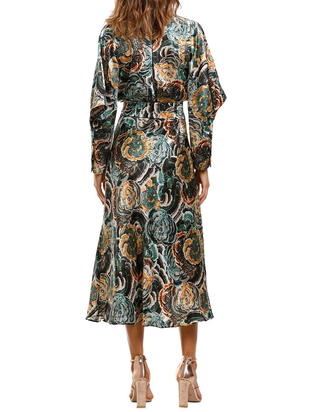 Ginger and Smart Underworld Wrap Dress Long Sleeve