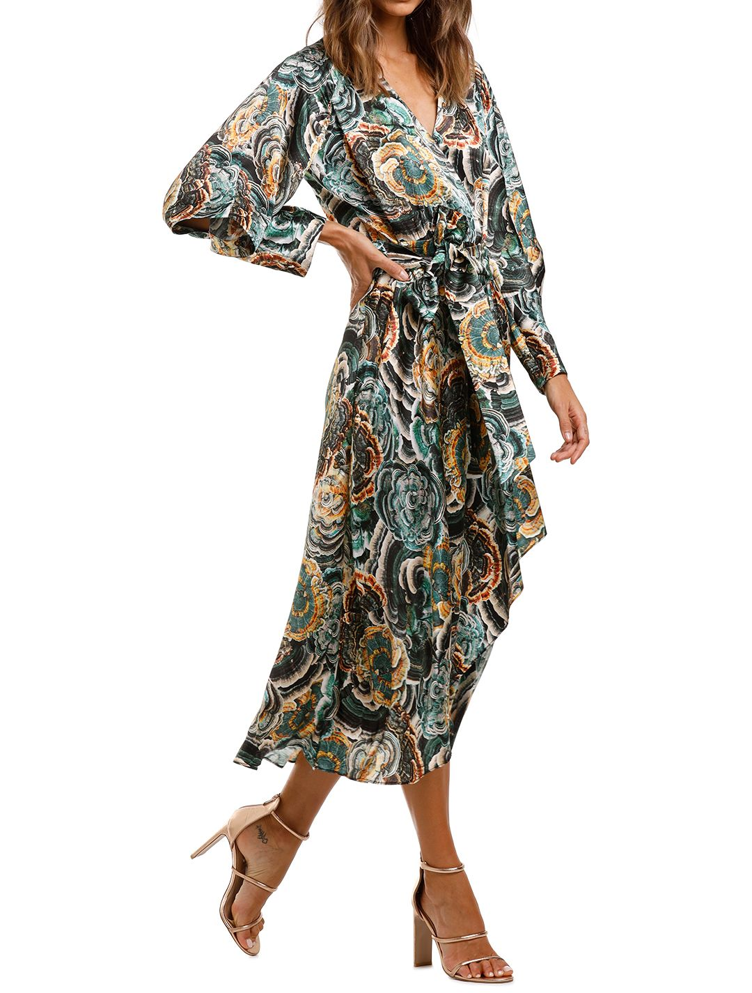 Ginger and Smart Underworld Wrap Dress Midi