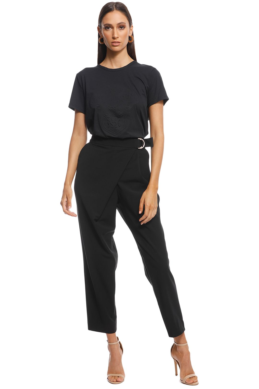 Ginger & Smart - Absence Pant - Black - Front