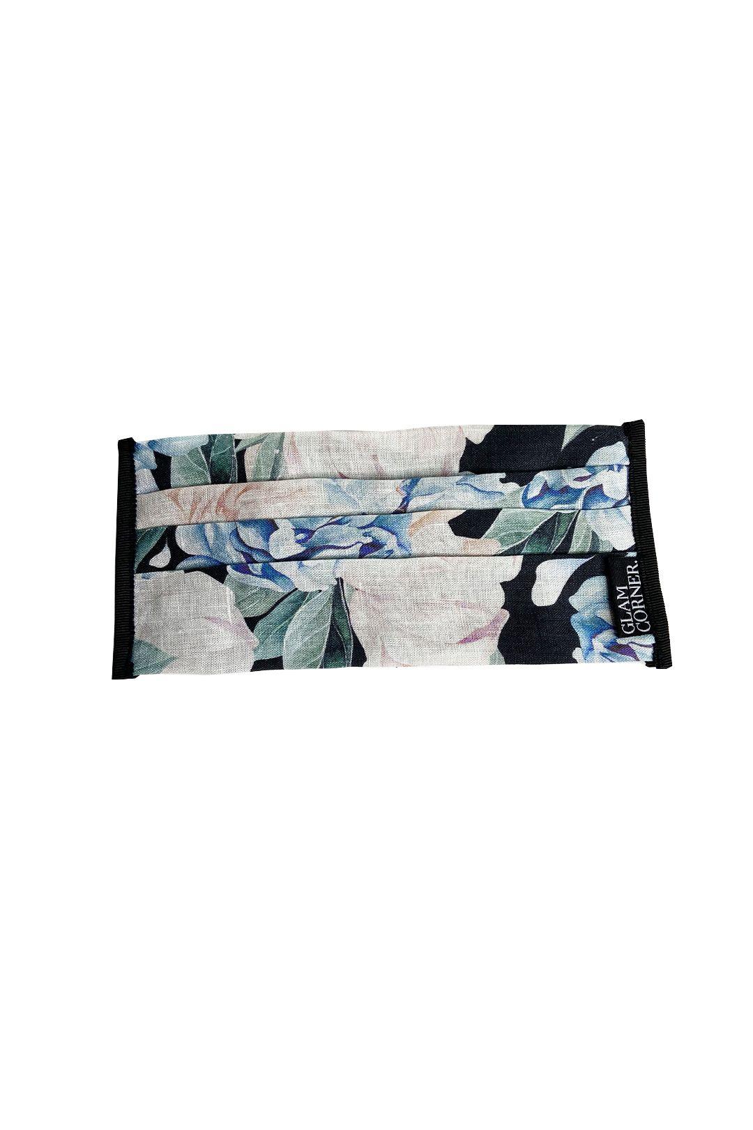 GlamCorner-Three-Layered-Fabric-Face-Masks-Fantasia-Floral-Front