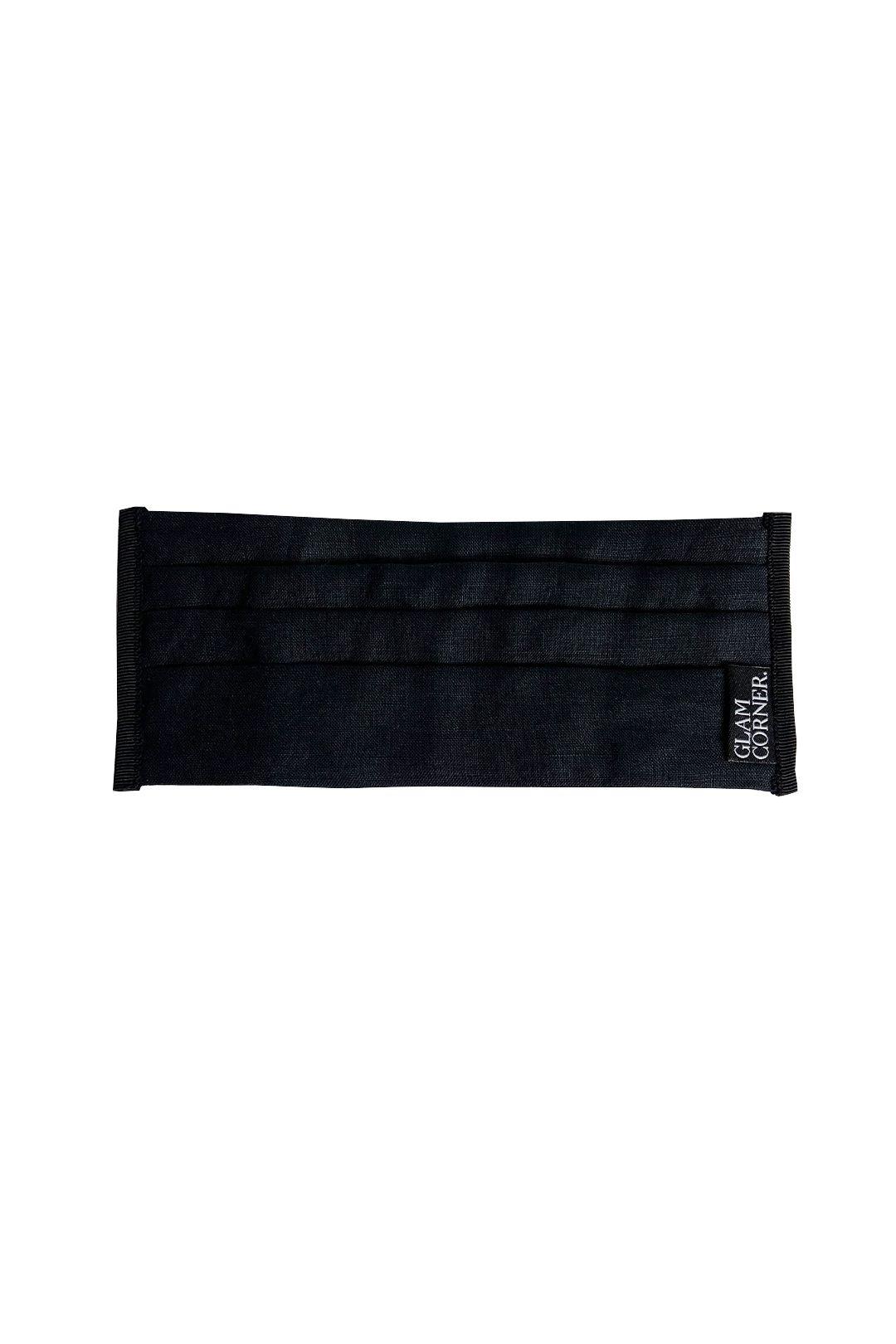 GlamCorner-Three-Layered-Fabric-FaceMasks-Black-Product