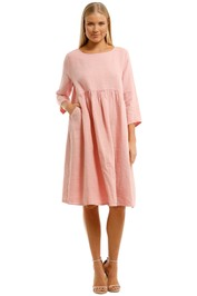 Gorman-Growers-Dress-Pink-Front