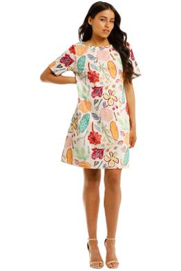 Gorman-Pitched-Petals-Tee-Dress-Multi-Print-Front