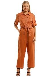 Gorman-Sahara-Pantsuit-Rust-Front