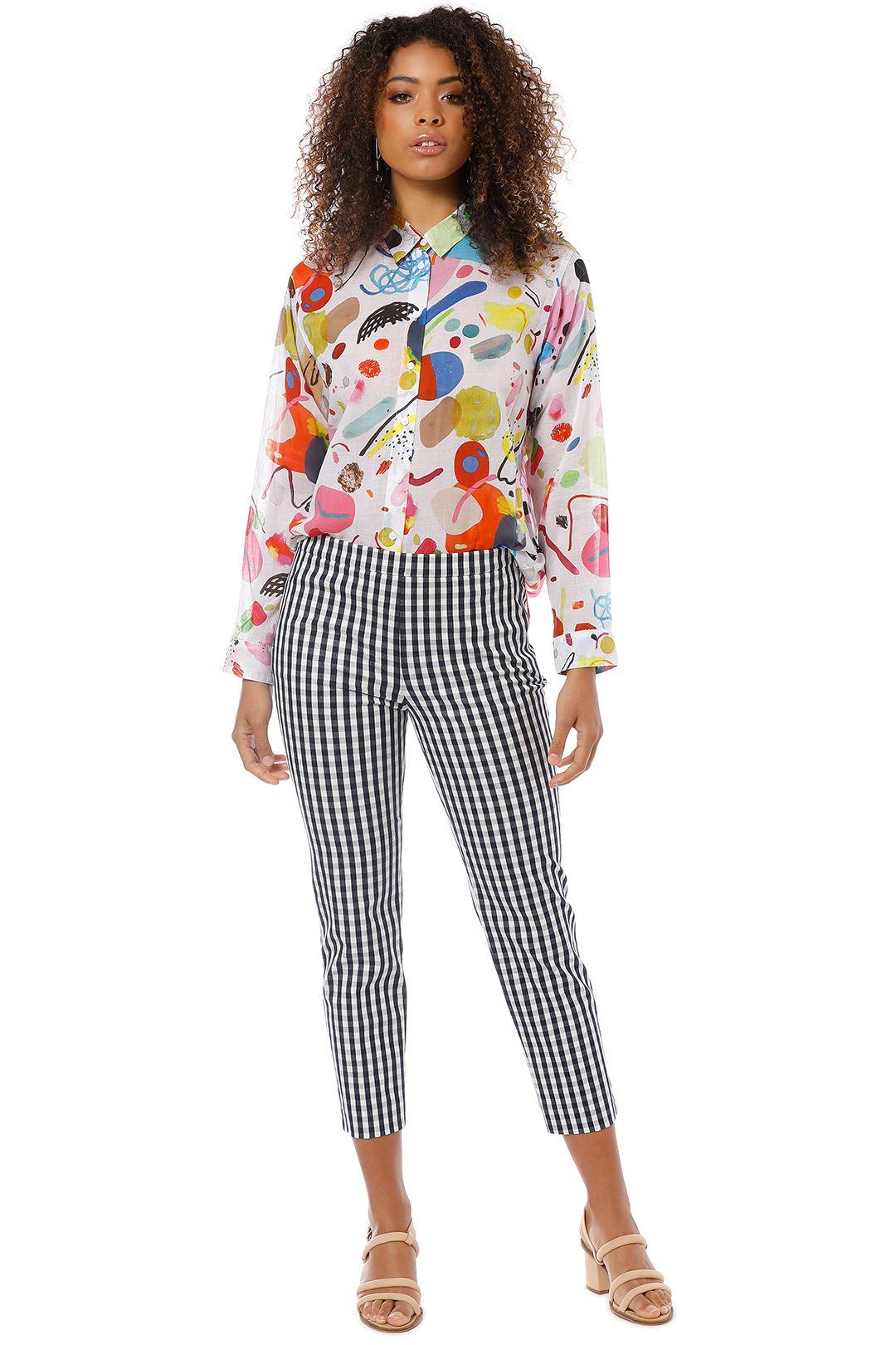 Gorman - Collage Shirt - Multi - Front