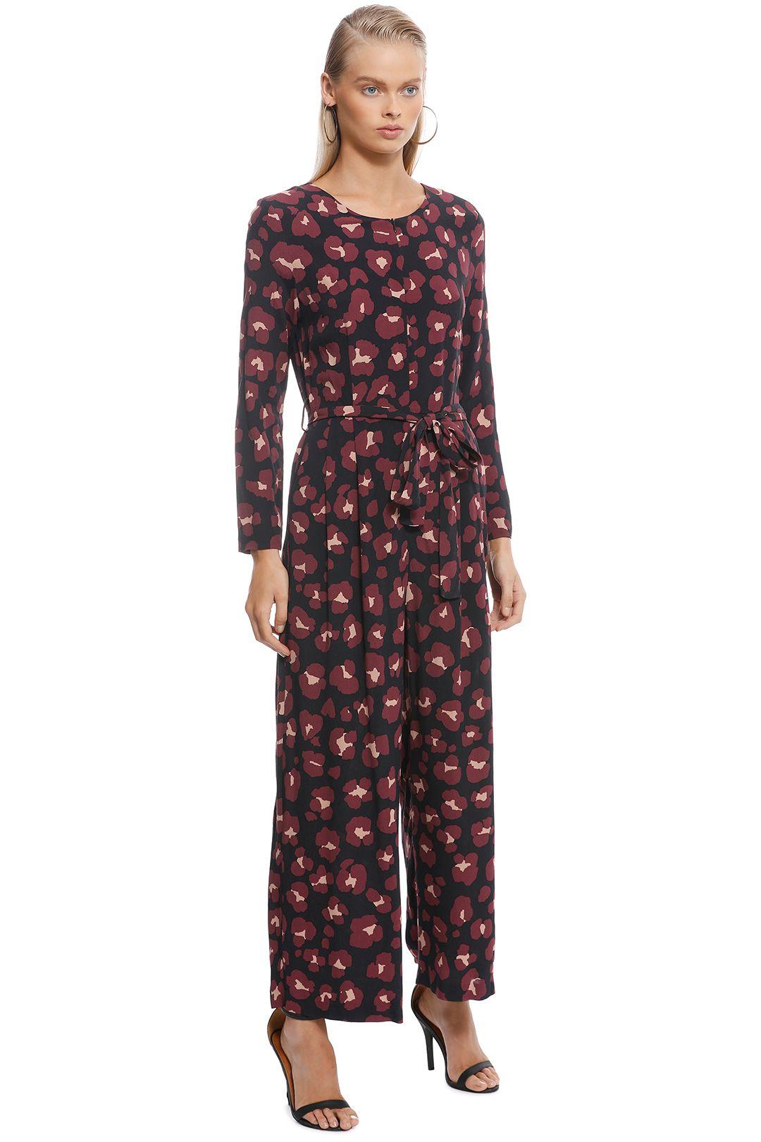 Gorman - Leopard Print Pantsuit - Print - Side