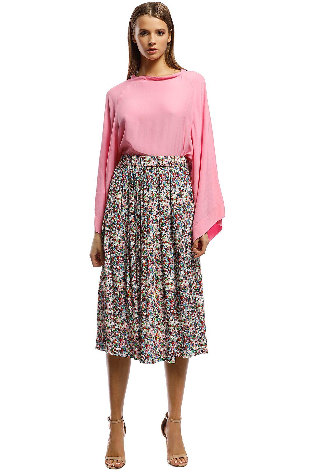 Gorman - Razzle Dazzle Skirt - Print - Front