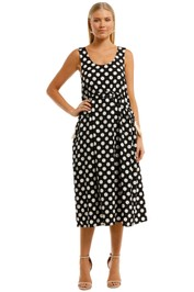 Gorman Arden Spot Dress Scoop Neckline