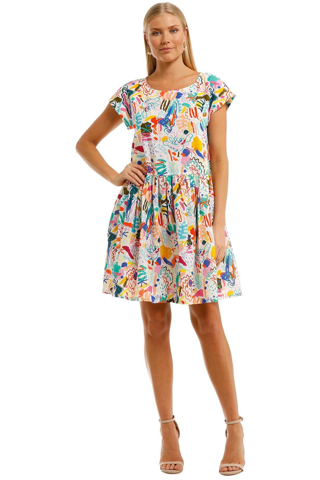 Gorman Coastline Beach Dress Mini Length