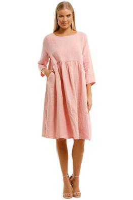 Gorman Growers Dress Pink Midi Length