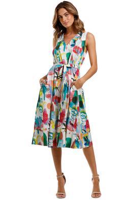 Gorman Shadow Pattern Dress
