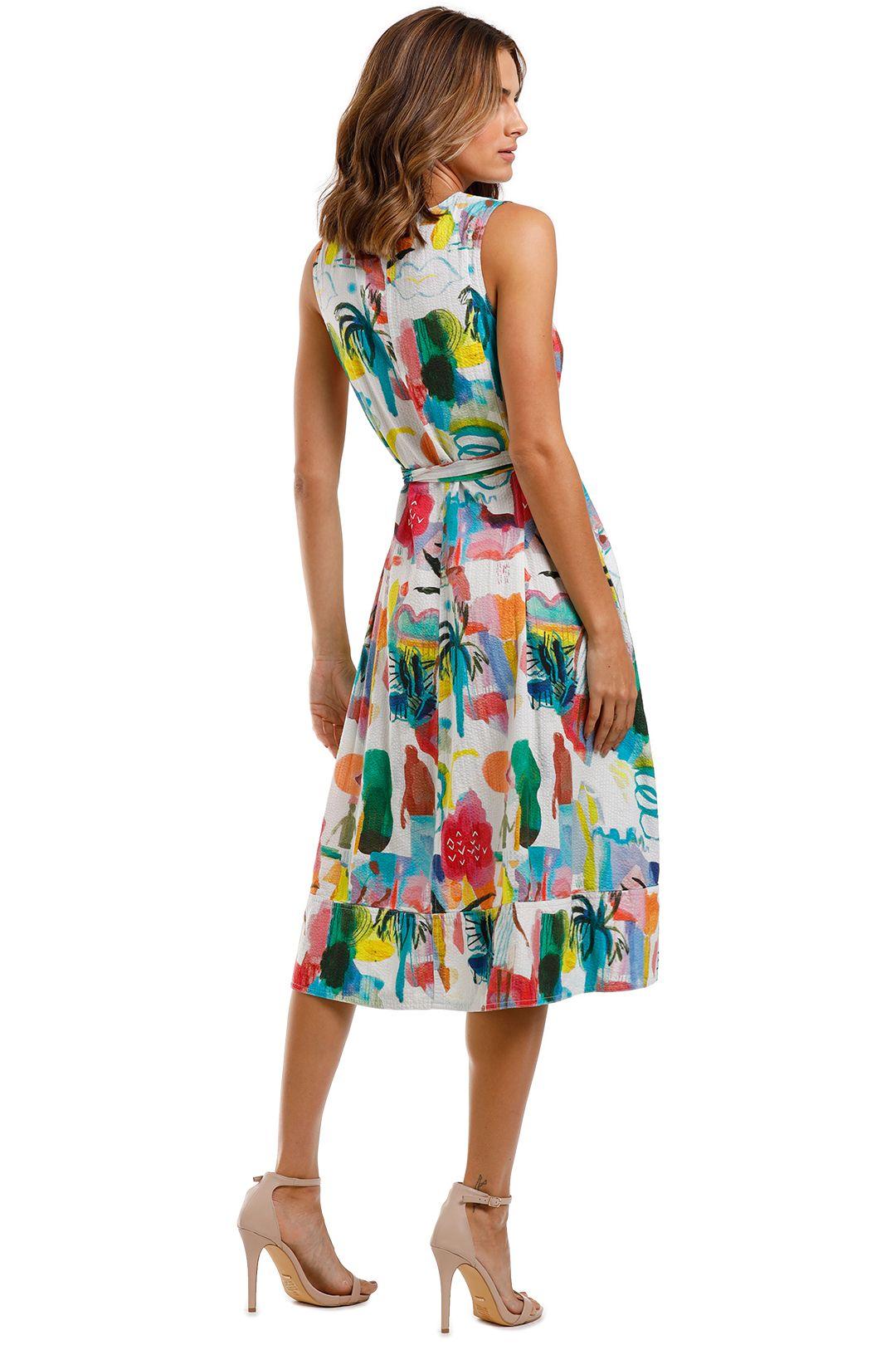 Gorman Shadow Pattern Dress Printed