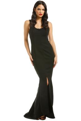 Grace-and-Hart-Calliope-Gown-Black-Front