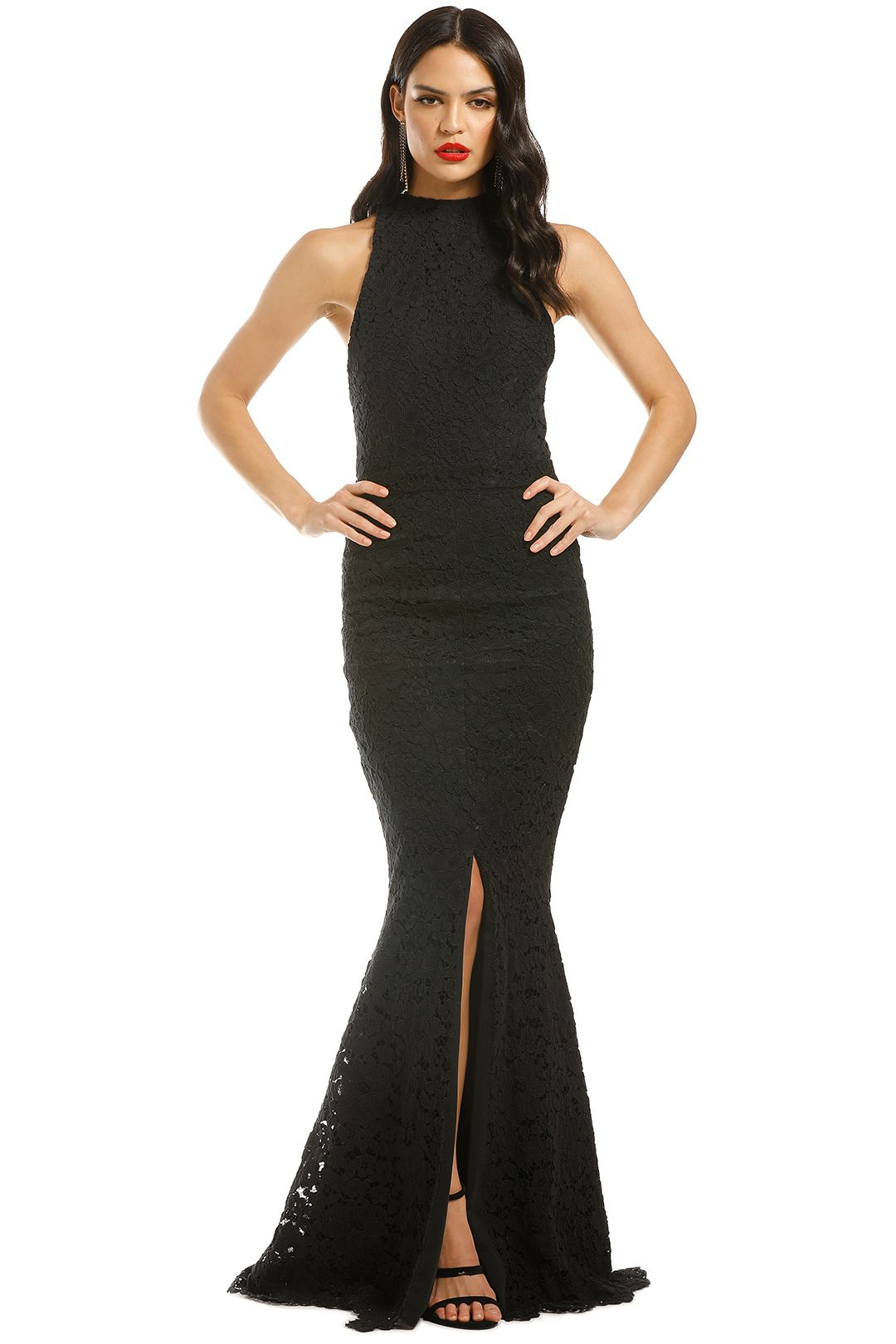Grace-and-Hart-Embrace-Gown-Black-Front