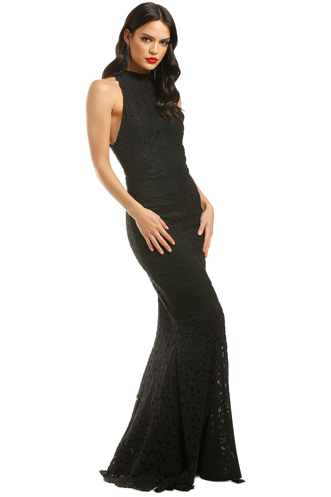 Grace-and-Hart-Embrace-Gown-Black-Side