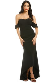 Grace-Hart-Aviary-Gown-Black-Front