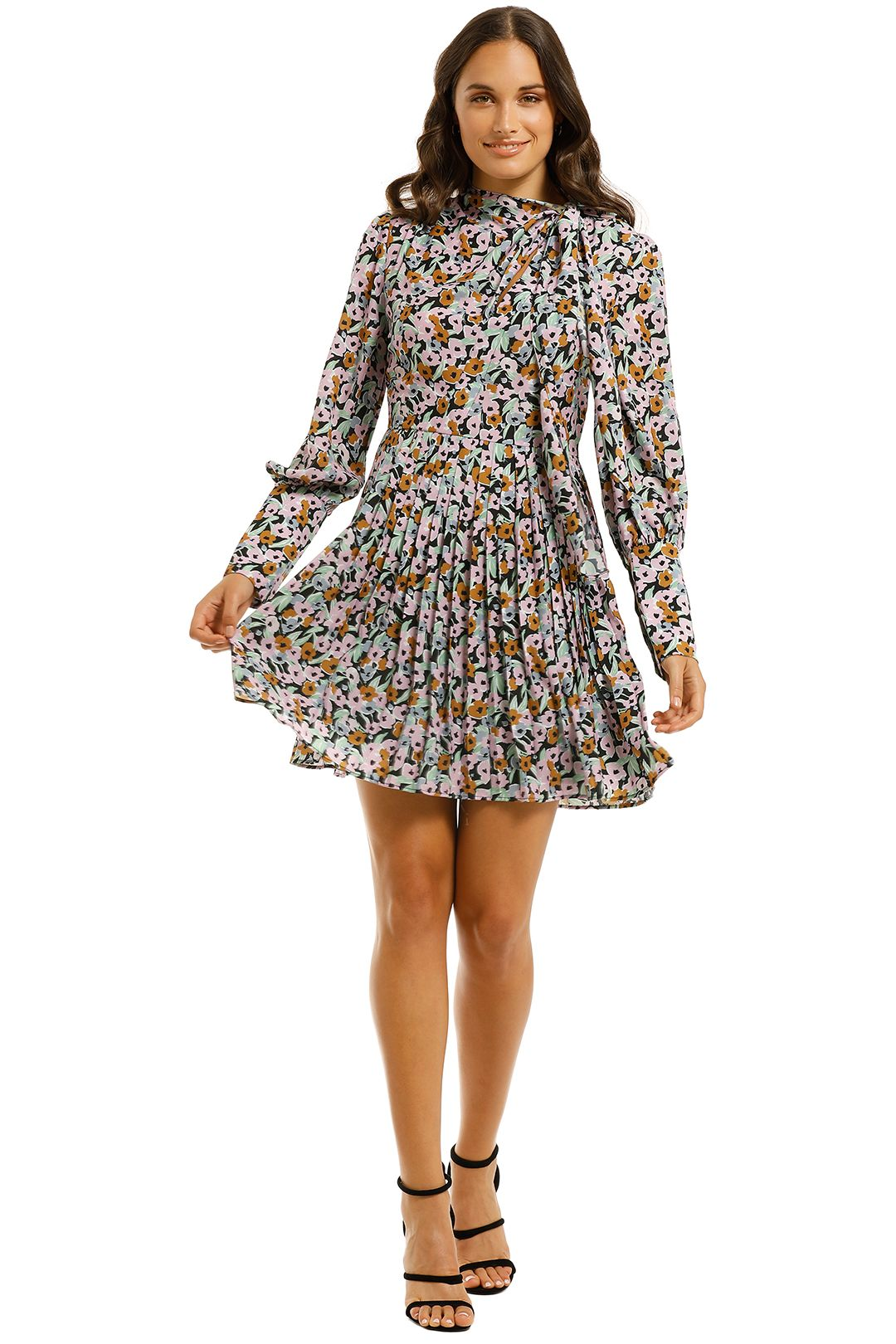 Grace-Willow-Alexis-Dress-Floral-Multi-Front