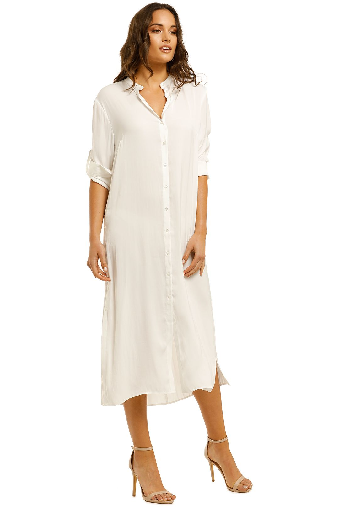 Grace-Willow-Ally-Shirt-Dress-White-Side