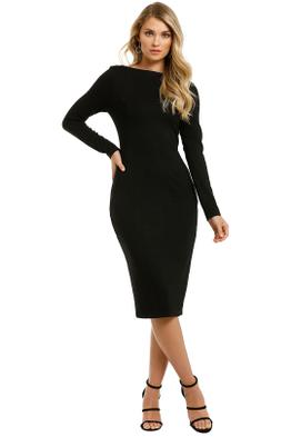 Grace-Willow-Amorette-Dress-Black-Front
