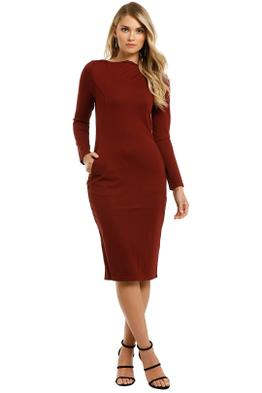 Grace-Willow-Amorette-Dress-Cabernet-Front