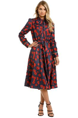 Grace-Willow-River-Dress-Red-Poppy-Print-Front