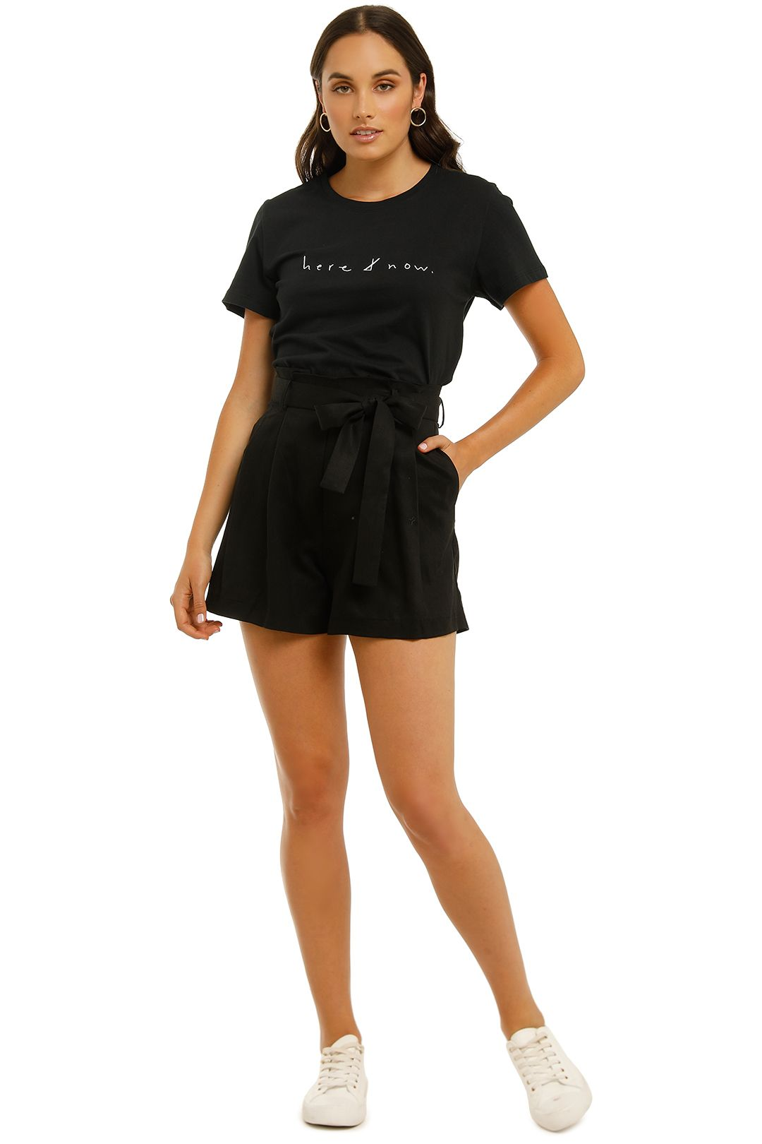 Grace-Willow-Waverley-Short-Black-Front