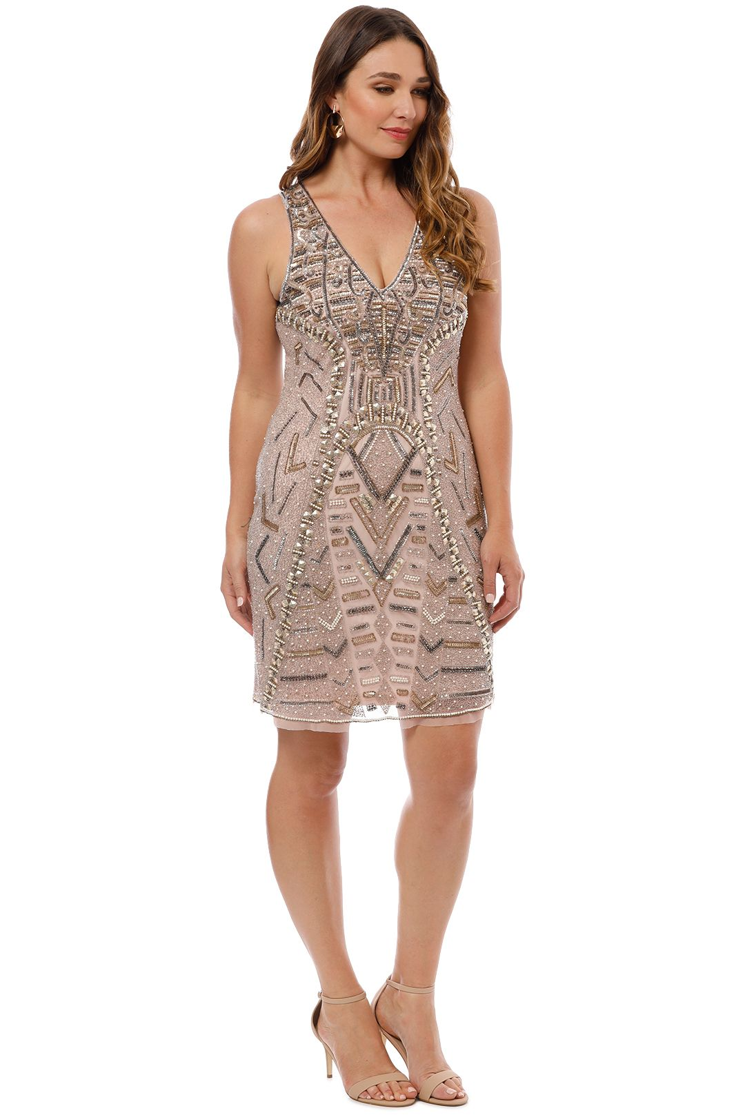 Grace and Blaze - All That Shines Dress - Blush - Side
