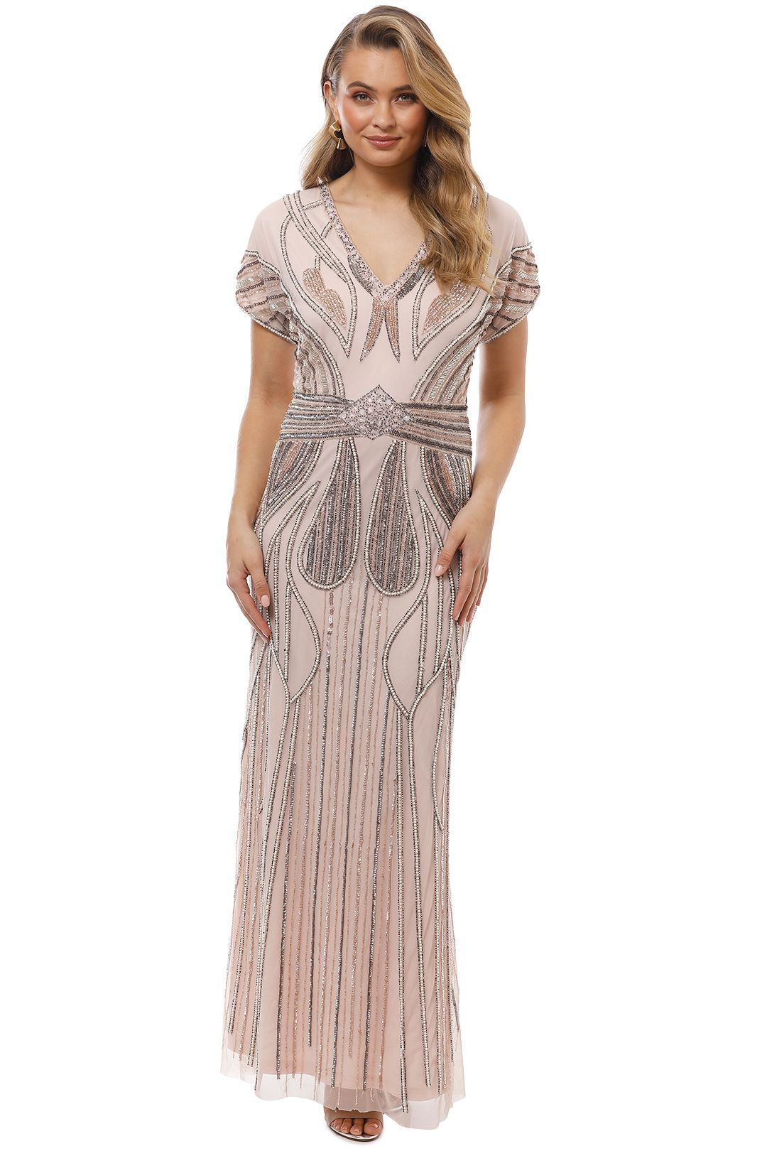 Grace and Blaze - Atlantis Gown - Blush - Front