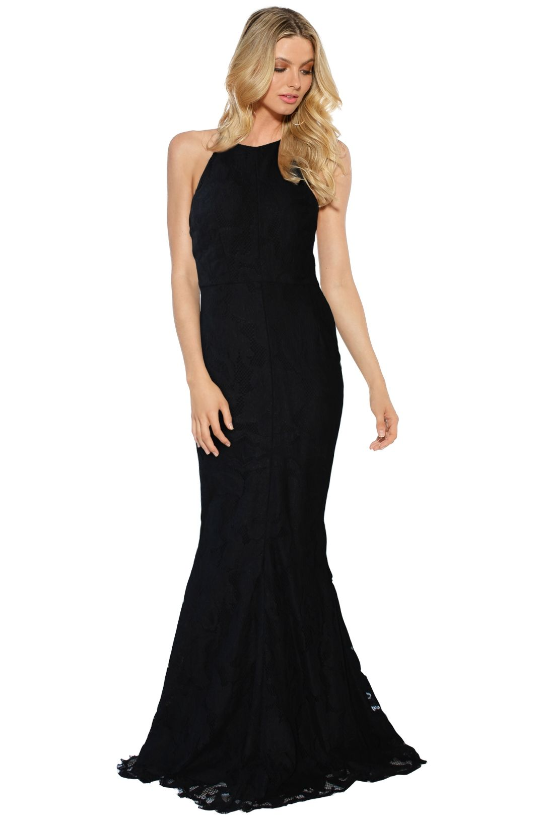Grace and Hart - Allure Gown - Black - Front