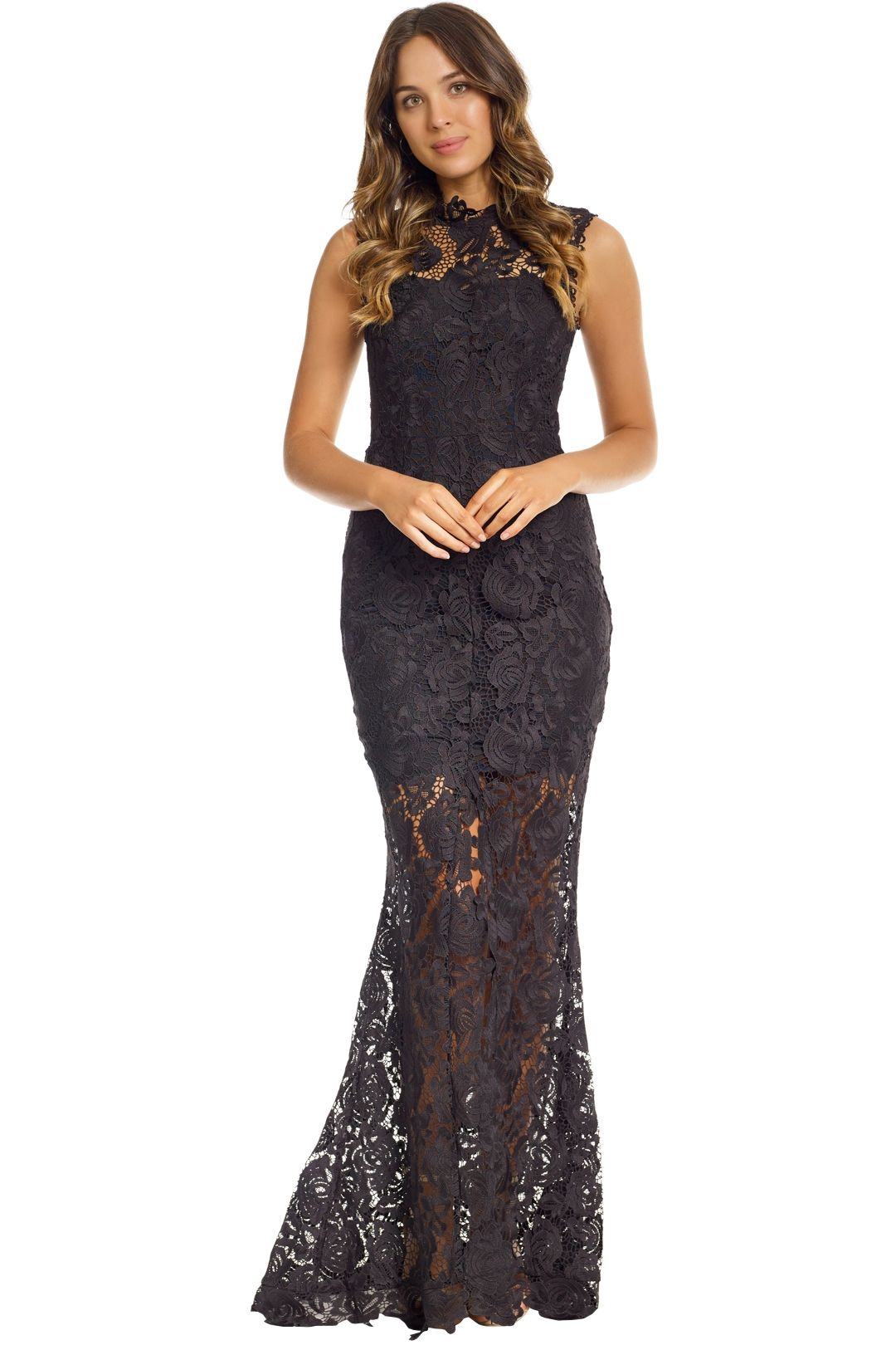 Grace and Hart - Espresso Gown - Black - Front