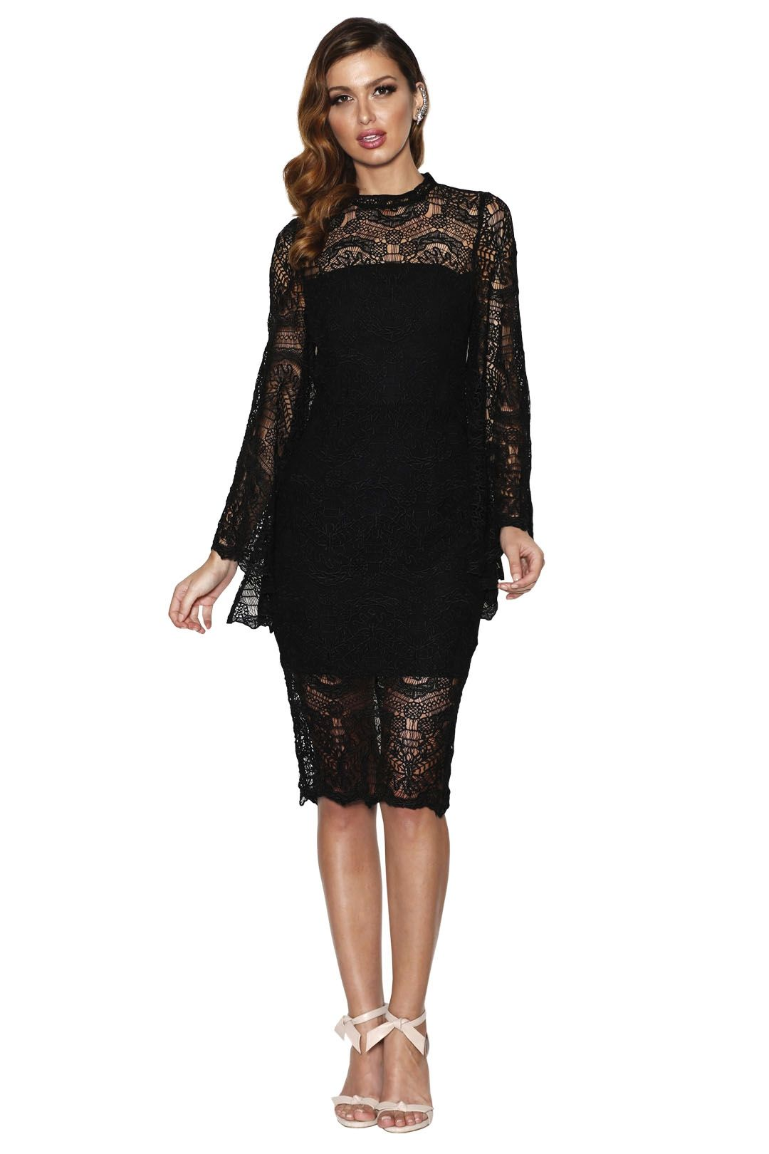 Grace and Hart - Majestic Dress - Black - Front