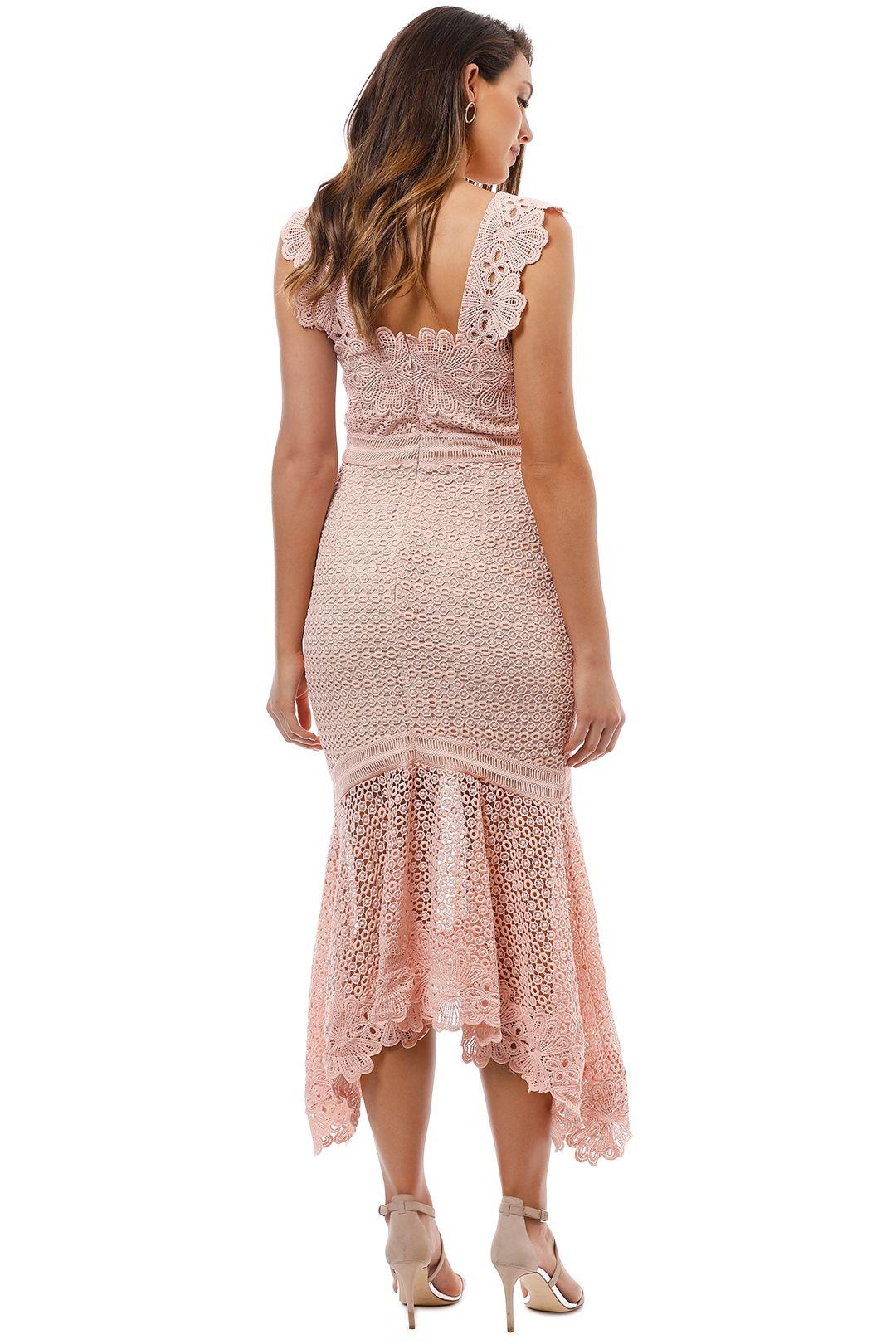 Grace and Hart - Paradiso Midi Dress - Rose - Back