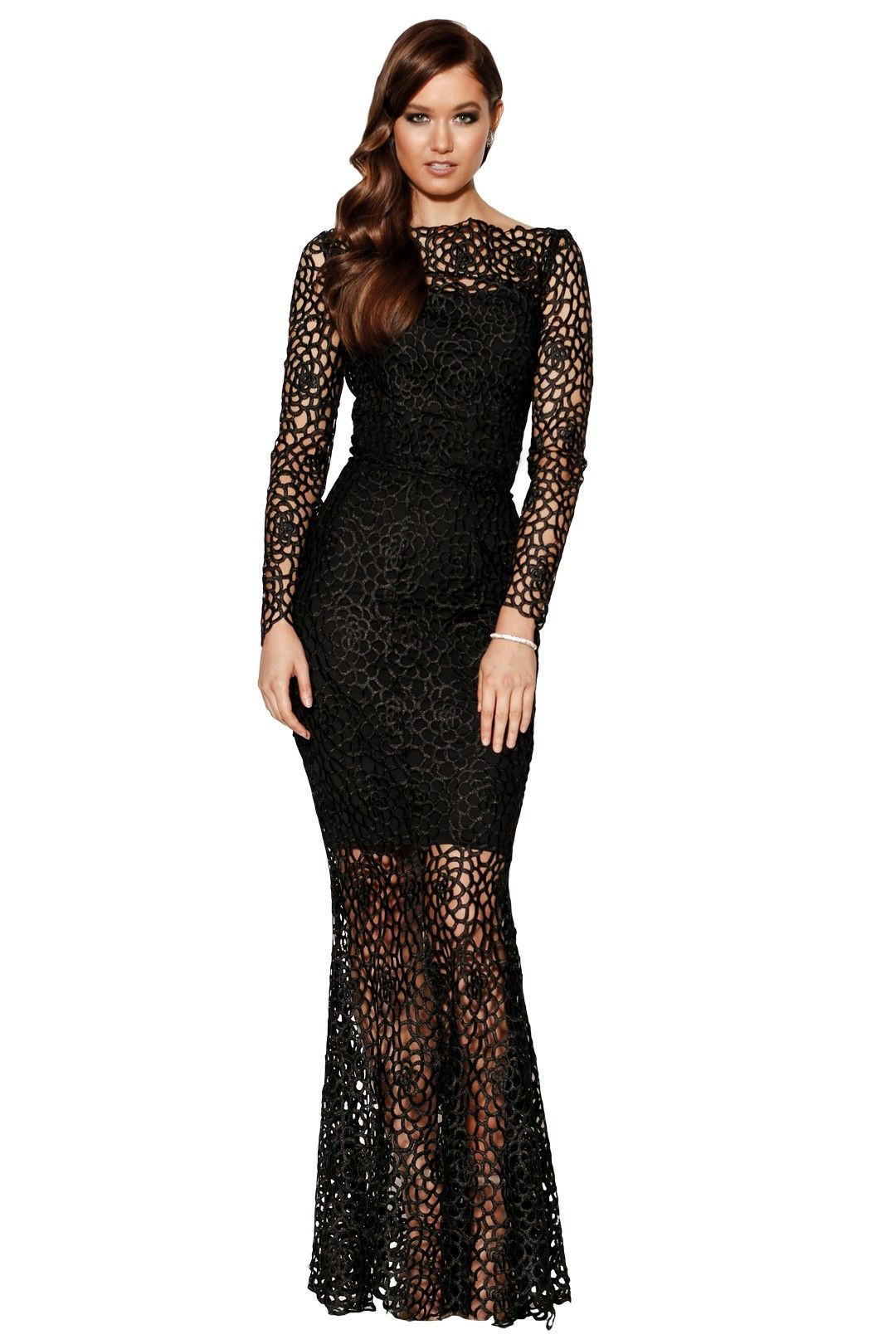 Grace and Hart - Scandal Gown - Black - Front