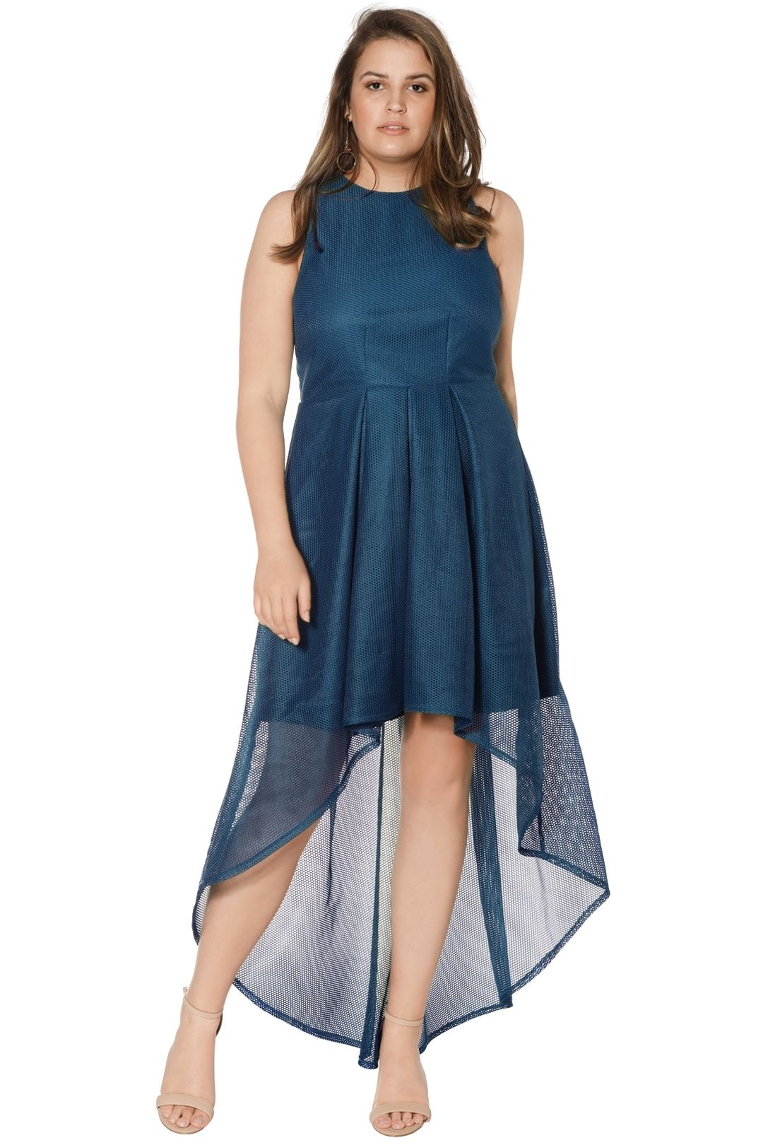 Grace and Hart - Stand Alone Midi - Teal - Front