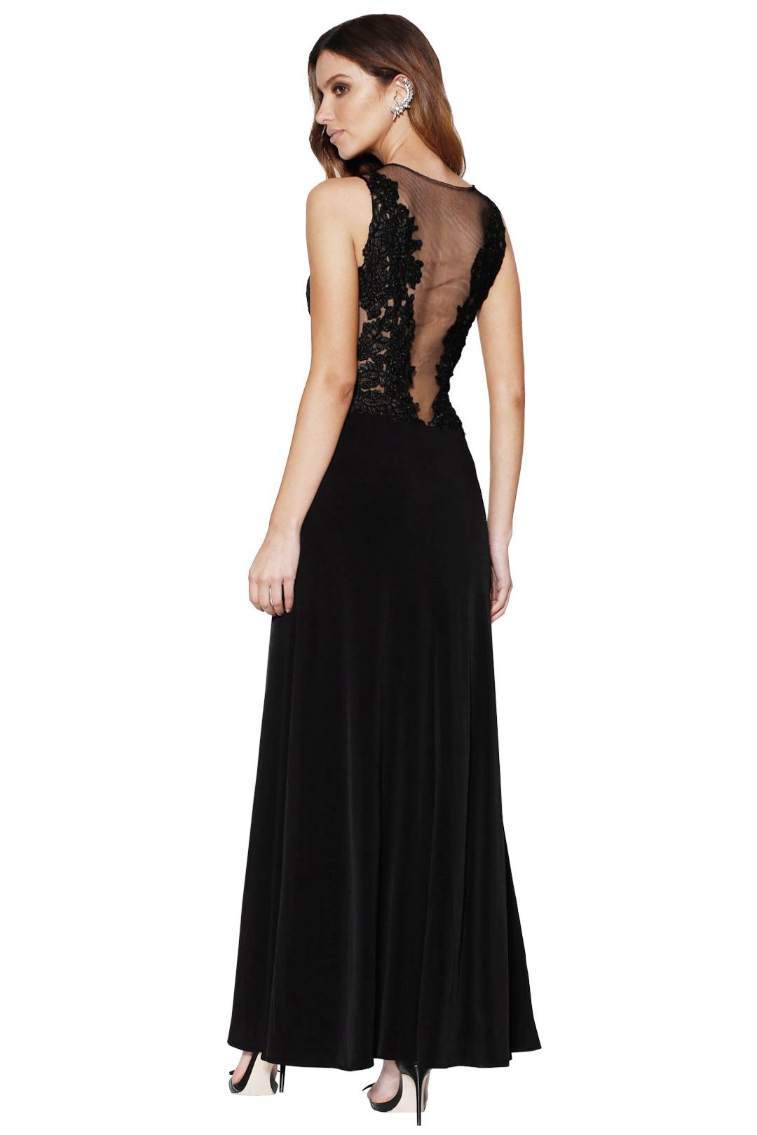 Grace and Hart - Starlet Gown Black - Back