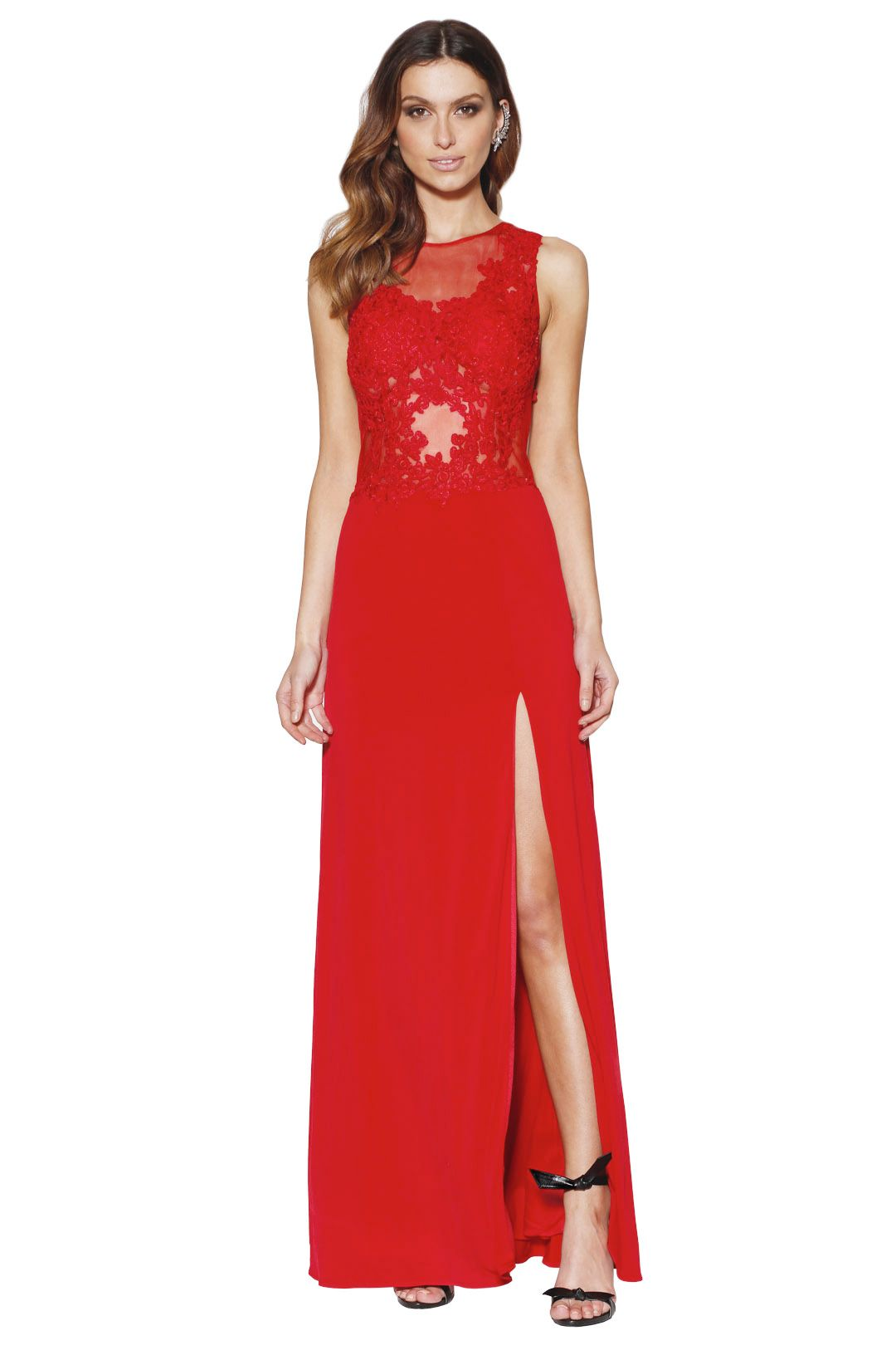 Grace and Hart - Starlet Gown Scarlet