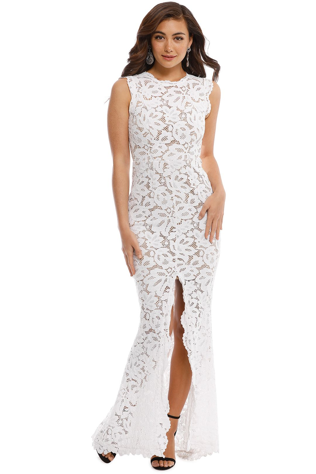 Grace and Hart - Valentine Gown - Ivory - Front