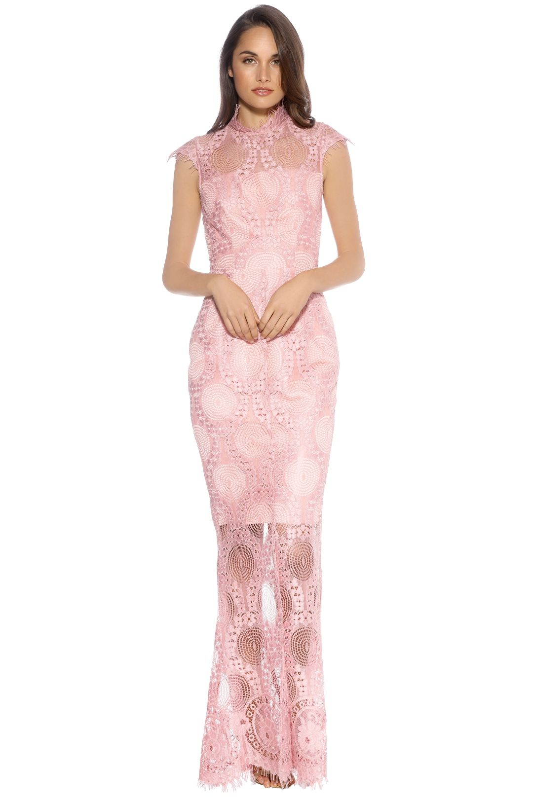 Grace & Hart - Queen Bee Gown - Blush Pink - Front