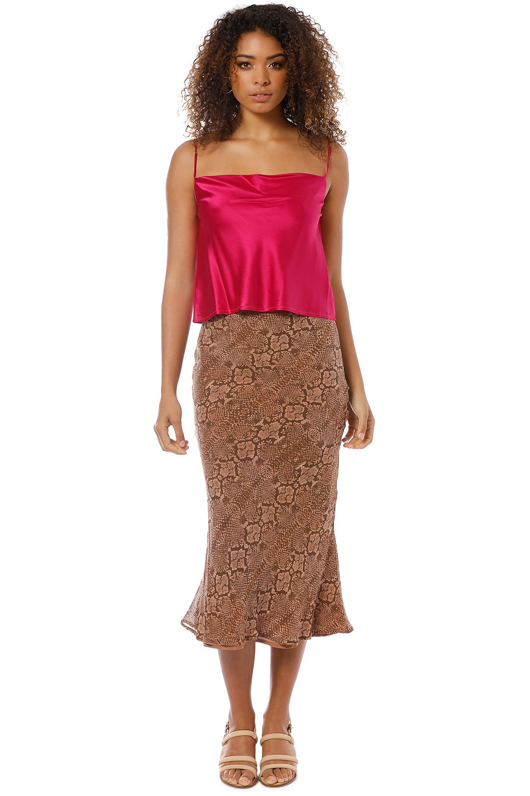 Hansen and Gretel - Elsom Skirt - Serpent - Front