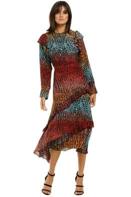 Hayley-Menzies-Ombre-Crocodile-Midi-Dress-Front