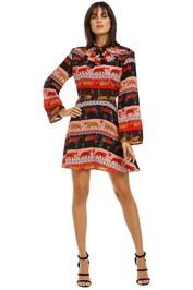 Hayley-Menzies-Tigress-Mini-Dress-Front