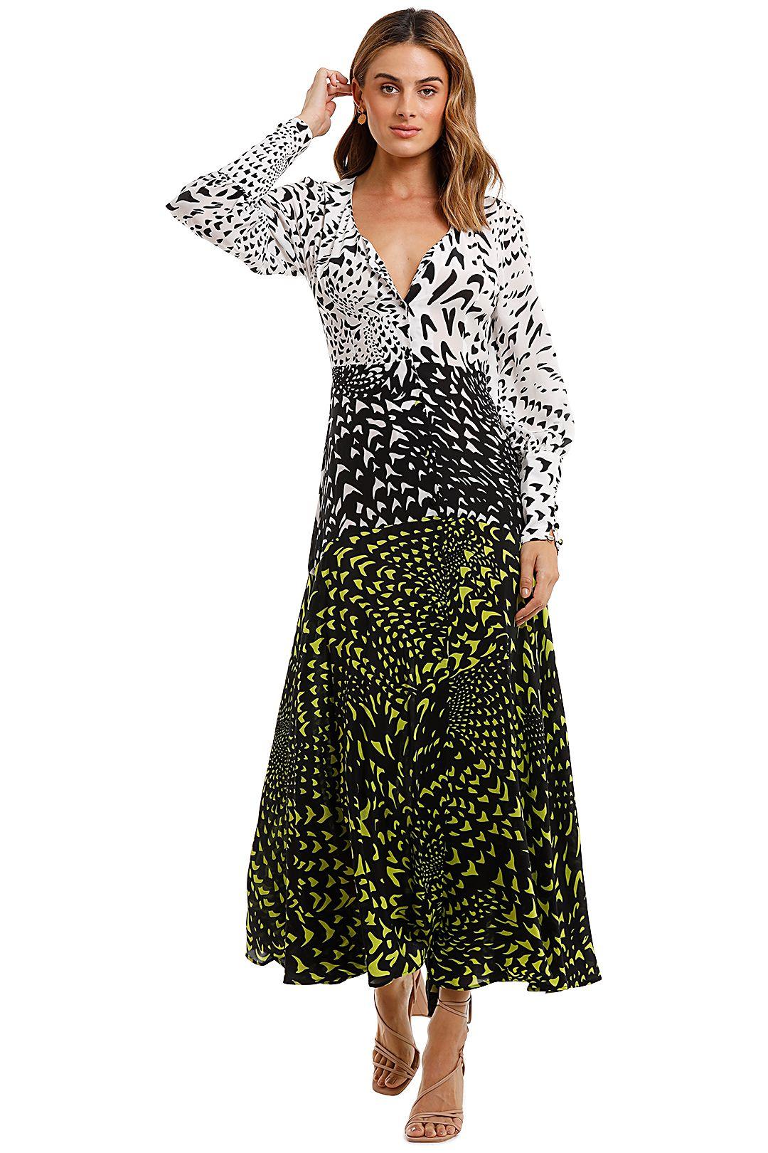 Hayley Menzies Midaxi Wings Printed Dress